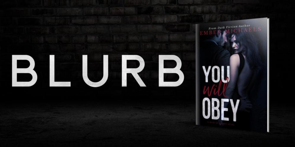 blurb you will obey